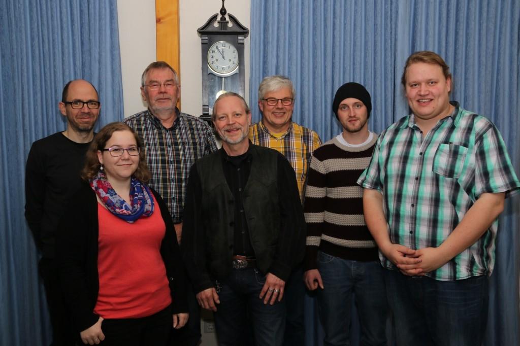 Der Vorstand im Jahre 2014